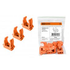 Крепеж-клипса для трубы D16мм оранжевый TDM (10)