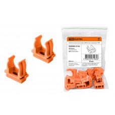 Крепеж-клипса для трубы D20мм оранжевый TDM (10)