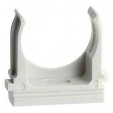 Крепёж-клипса для трубы D16мм серый U-Plast (100/4000)