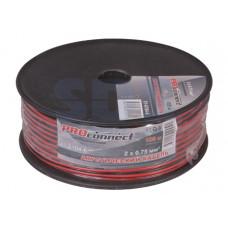Кабель акустический 2х0.75 красно-черный Proconnect (100/600)