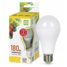 Лампа диодная A60 20Вт Е27 3000К 1800Лм ASD (10)