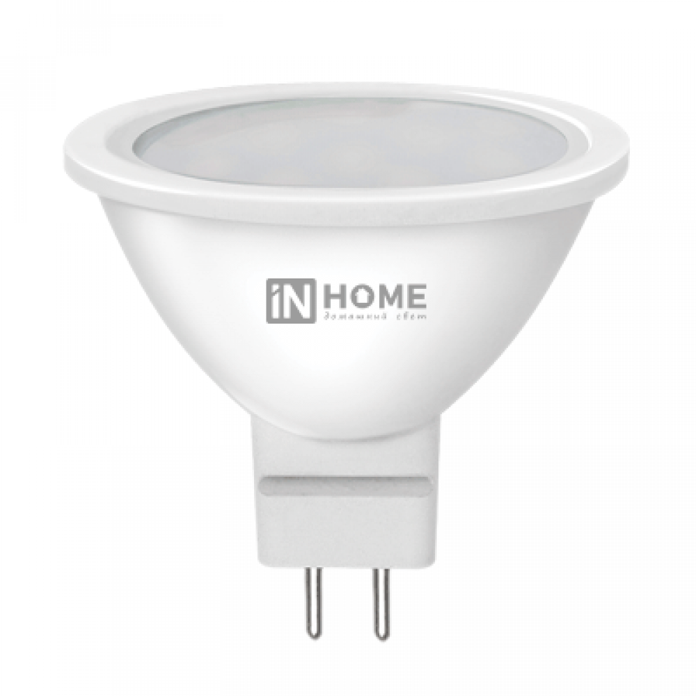 Лампа диодная MR16 GU5.3 6Вт 6500К 525Лм InHome (10)