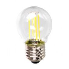 Лампа филамент шар G45 5Вт Е27 3000К 450Лм InHome (10)