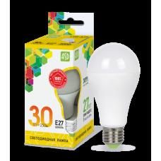 Лампа диодная A70 30Вт Е27 3000К 2700Лм ASD (10)