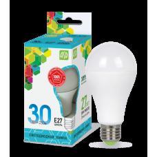 Лампа диодная A70 30Вт Е27 4000К 2700Лм ASD (10)