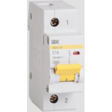 Выключатель автоматический 1P 10A 10kA C IEK BA47-100 (12/120)
