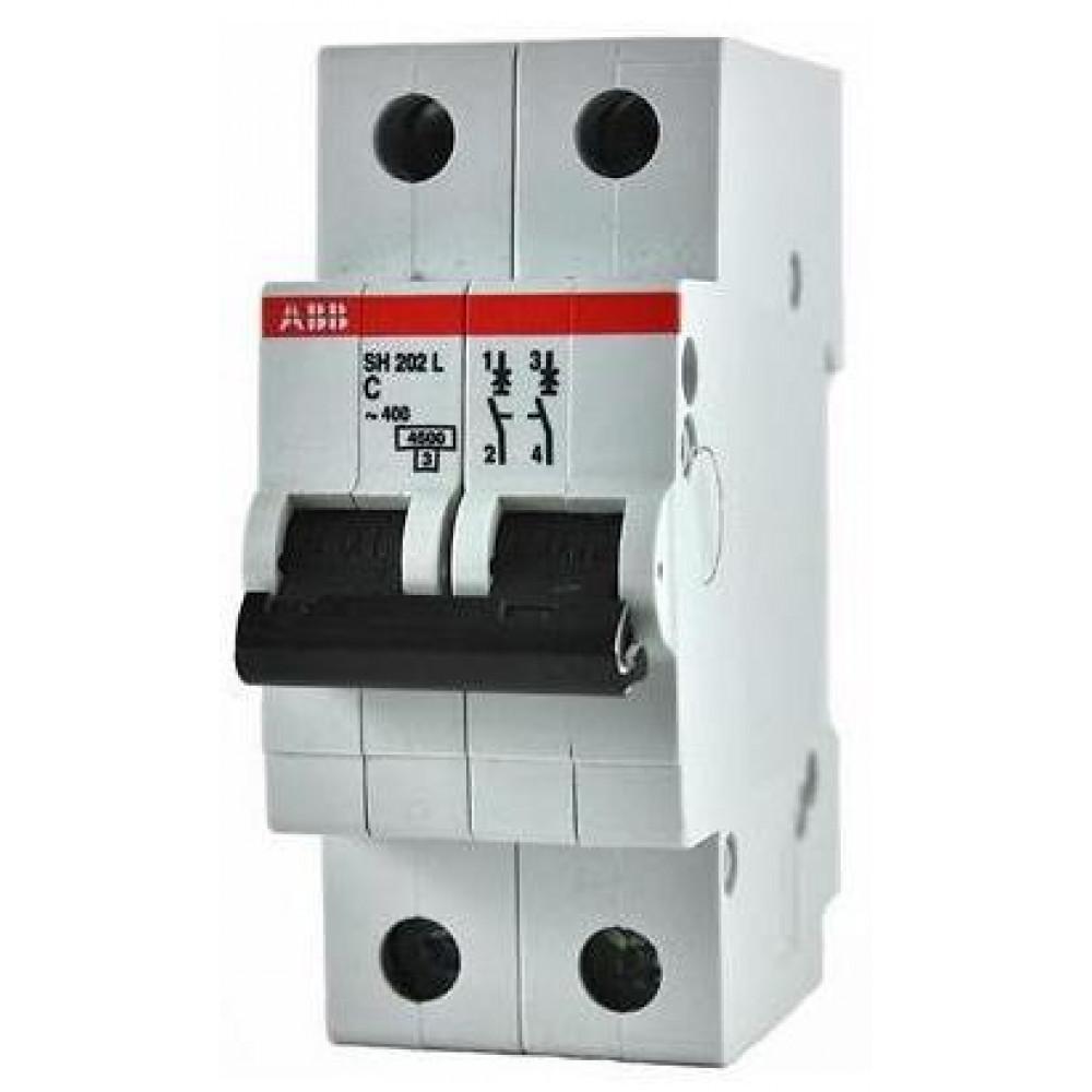 Выключатель автоматический 2P 16А 4,5kA C ABB SH202L (5)