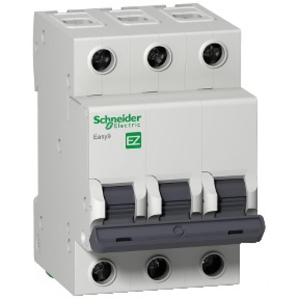 Выключатель автоматический 3P 10A 4,5кА C Schneider Electric Easy9 (4)