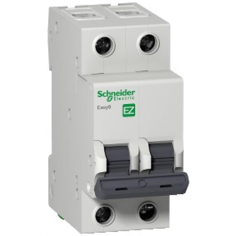 Выключатель автоматический 2P 10A 4,5кА C Schneider Electric Easy9 (6)