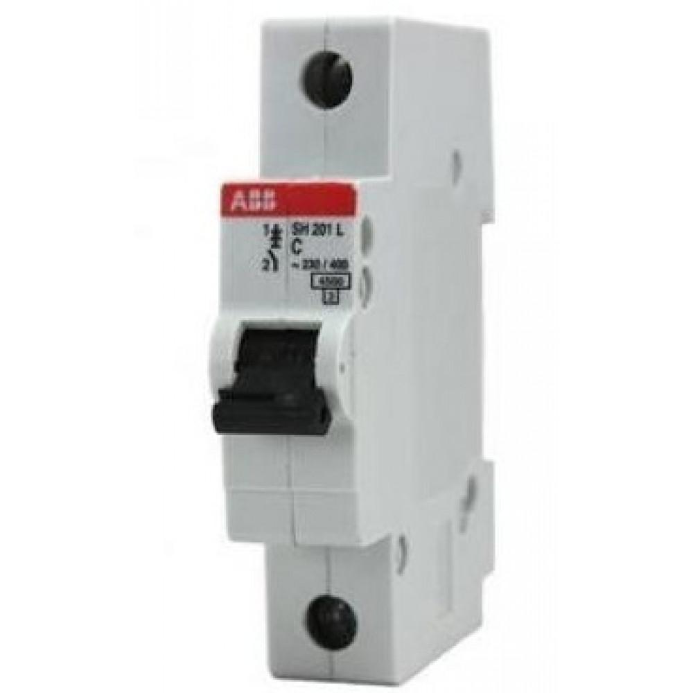 Выключатель автоматический 1P 10А 4,5kA C ABB SH201L (10)