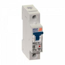 Выключатель автоматический 1P 10A 6kA C КЭАЗ ВМ63 (12)