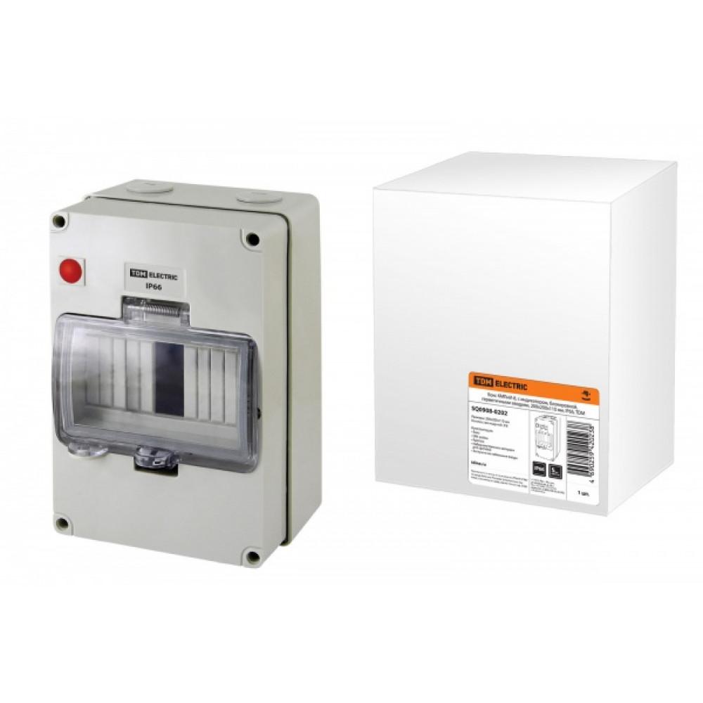 Бокс КМПнИ-8 IP66 200х200х110мм индивидуальный блок TDM (10)