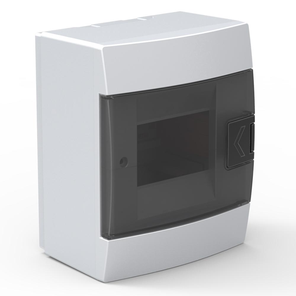 Бокс Horoz ЩРН- 4 белый 143х106,5х178мм нул шина (24)