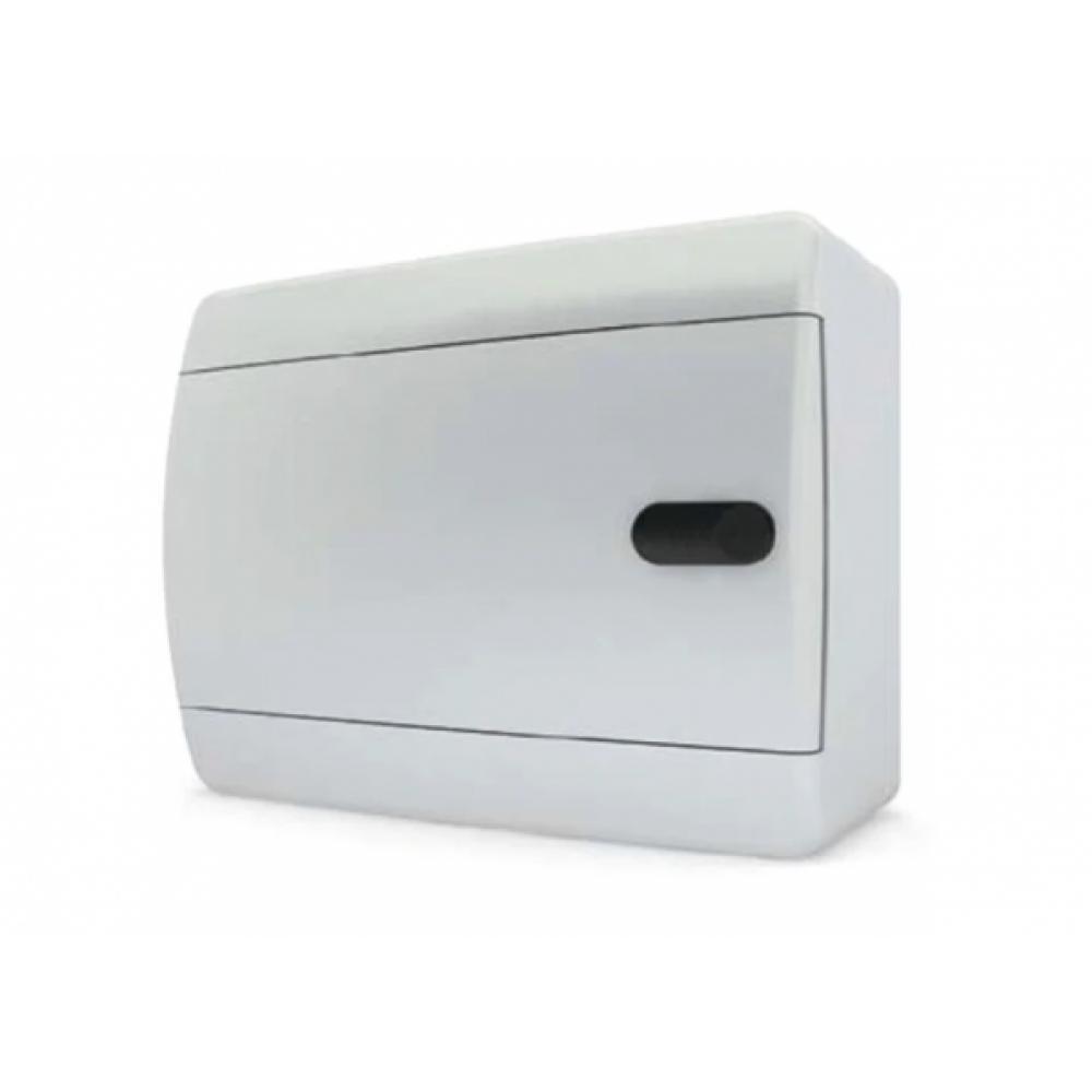 Бокс ЩРН-Пс- 8 IP40 218х170х103мм Tekfor белая дверца (8)