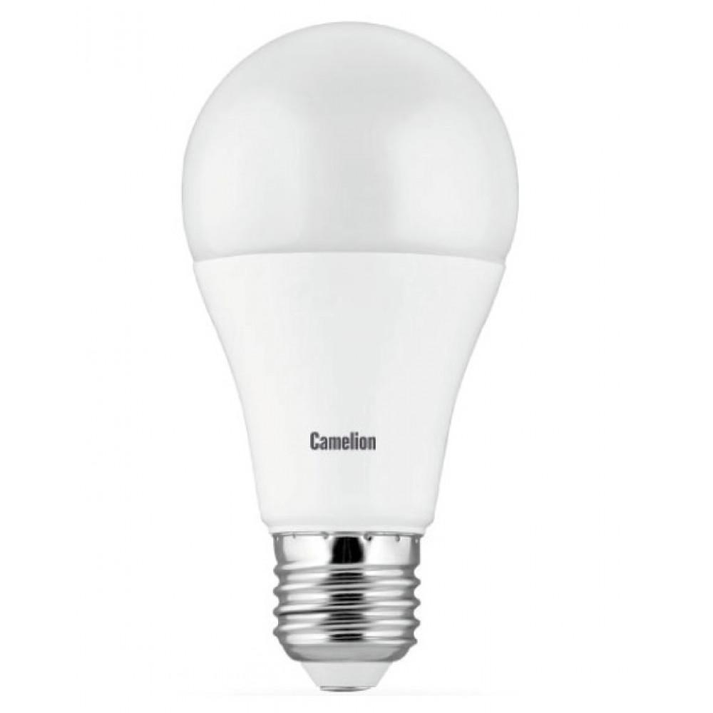 Лампа диодная A60 15Вт Е27 4500К 1320Лм Camelion (10)