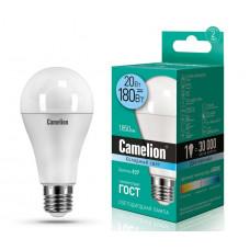 Лампа диодная A65 20Вт Е27 4500К 1850Лм Camelion (10)