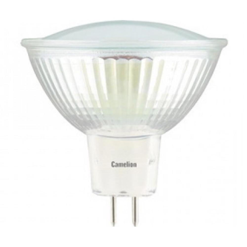 Лампа диодная MR16 GU5.3 3Вт 3000К 250Лм Camelion (10)