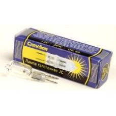 Лампа галогенная JC 12В 50Вт G6.35 капсула Camelion (100)