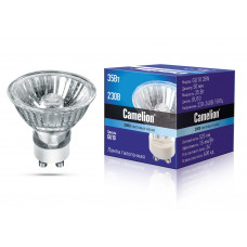 Лампа галогенная GU10 220В 35Вт Camelion (10/200)