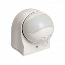 Датчик движения IEK ДД-010 1100Вт 180° 10м белый IP44 (12)