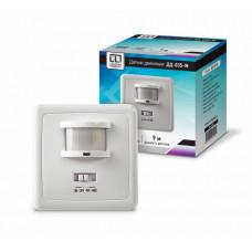Датчик движения ASD ДД-018-W 500Вт 160° 9м белый оптико-акустический IP20 (50)
