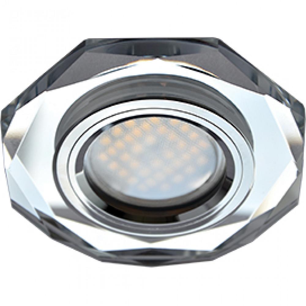 Ecola MR16 DL1652 GU5.3 Glass Стекло 8-угольник с прямыми гранями Хром / Хром 25x90