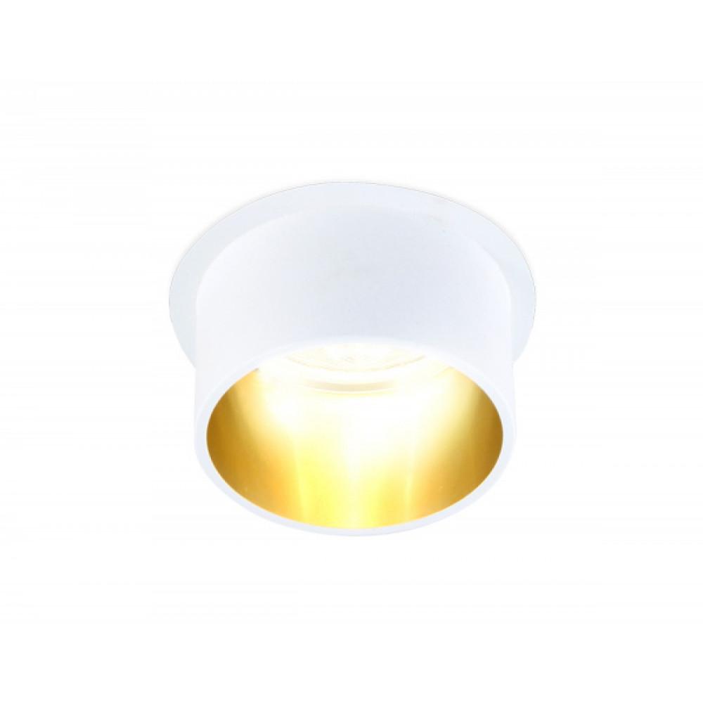 TN201 WH/GD белый/золото GU5.3 D68*55