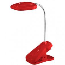 Светильник настольный аккумуляторный прищепка Эра NLED-420 1.5Вт 3000К красный (10)