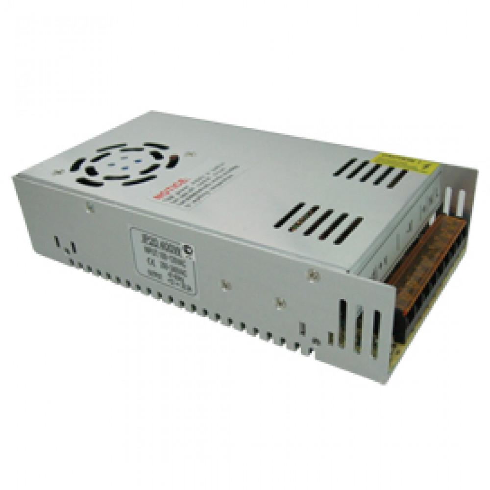 Драйвер 12В 400Вт IP20 215x115x50мм Ecola вентилятор