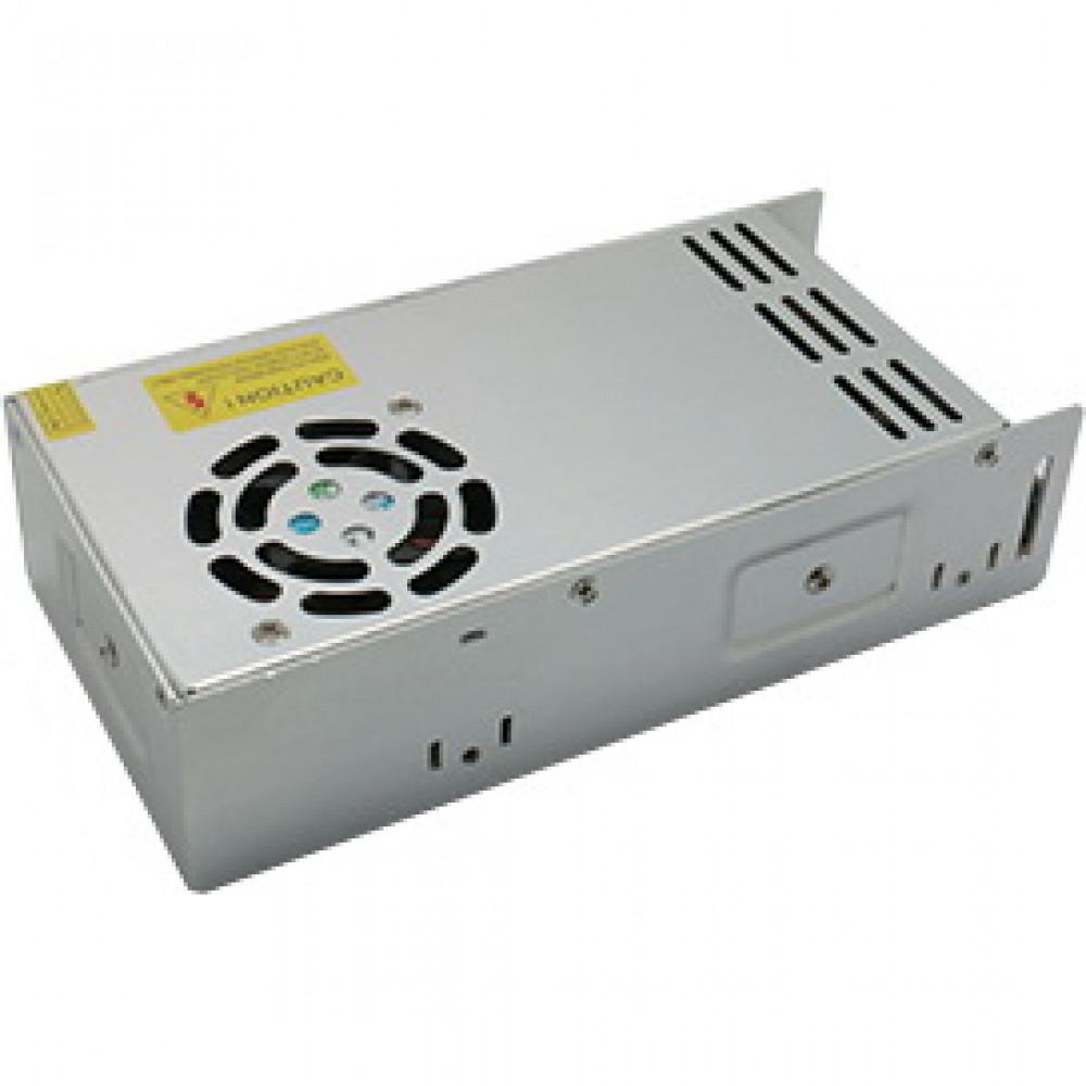 Драйвер 24В 400Вт IP20 201x99x50мм Ecola вентилятор