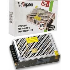 Драйвер 12В 120Вт IP20 188х47х37мм 12A Navigator ND-P120 (42)