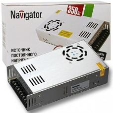 Драйвер 12В 360Вт IP20 222х68х40мм 30A Navigator ND-P360 вентилятор (20)