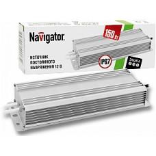 Драйвер 12В 150Вт IP67 230х64х32мм 14A Navigator ND-P150 (30)