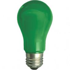Лампа диодная A55 8Вт Е27 Ecola 360° зелёный (10/50)