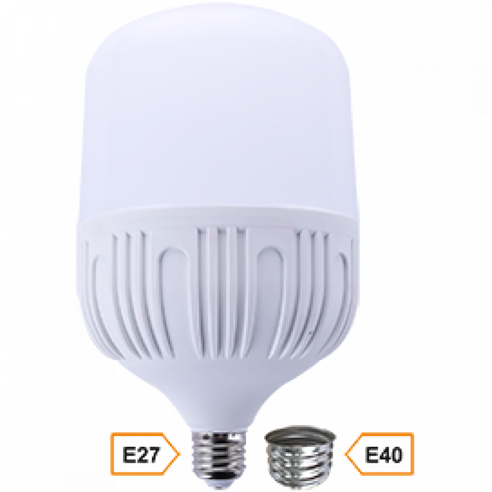 Лампа диодная HP 50Вт Е27/Е40 6000К d140x230мм Ecola Premium (20)