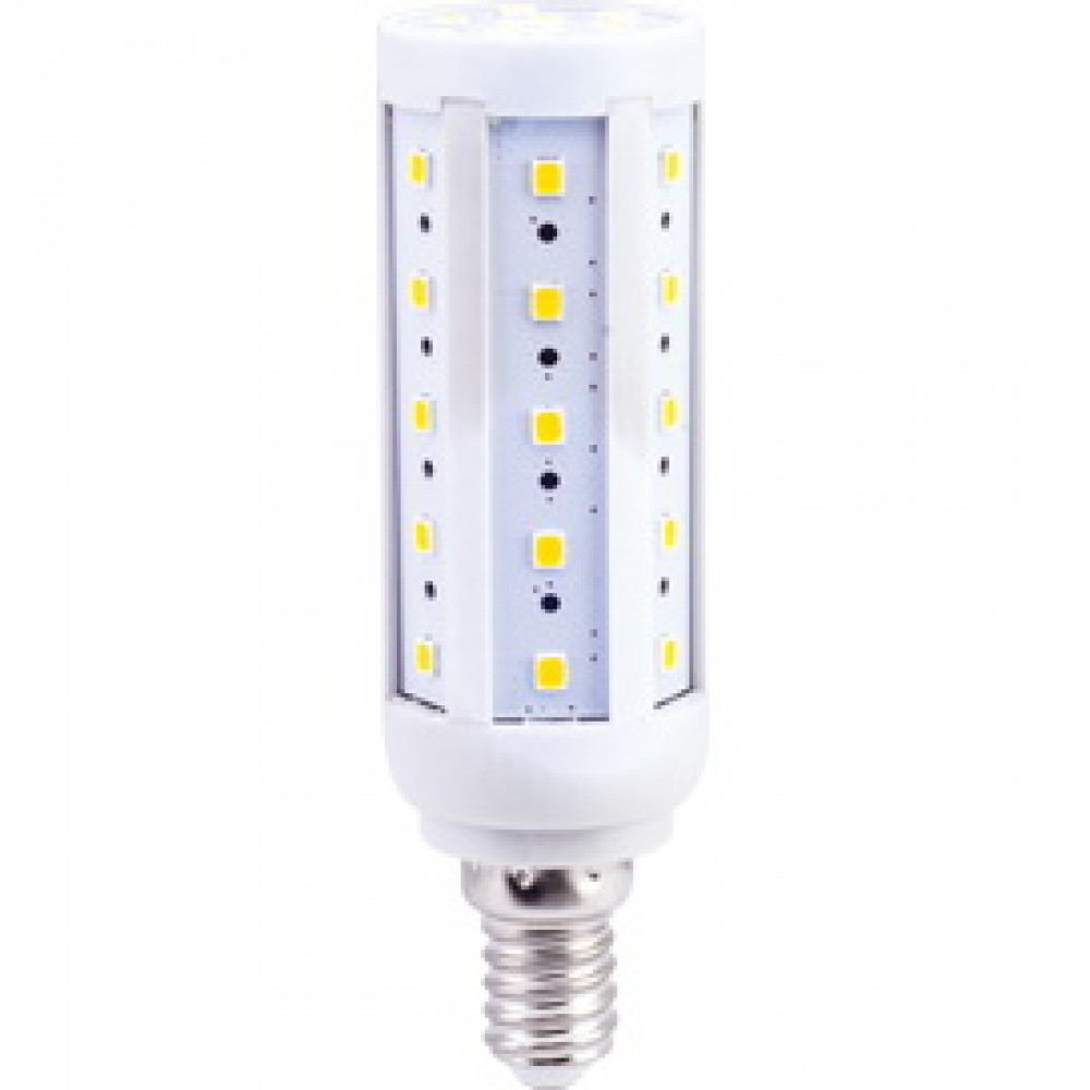 Лампа диодная кукуруза 9.5Вт Е14 2700К Ecola Premium (10/50)