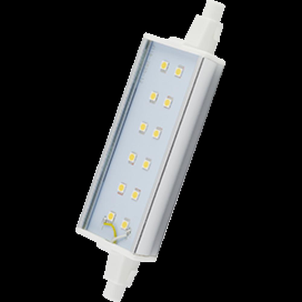 Лампа диодная F118 14Вт R7s 6500К Ecola Premium алюминиевый радиатор (10/100)