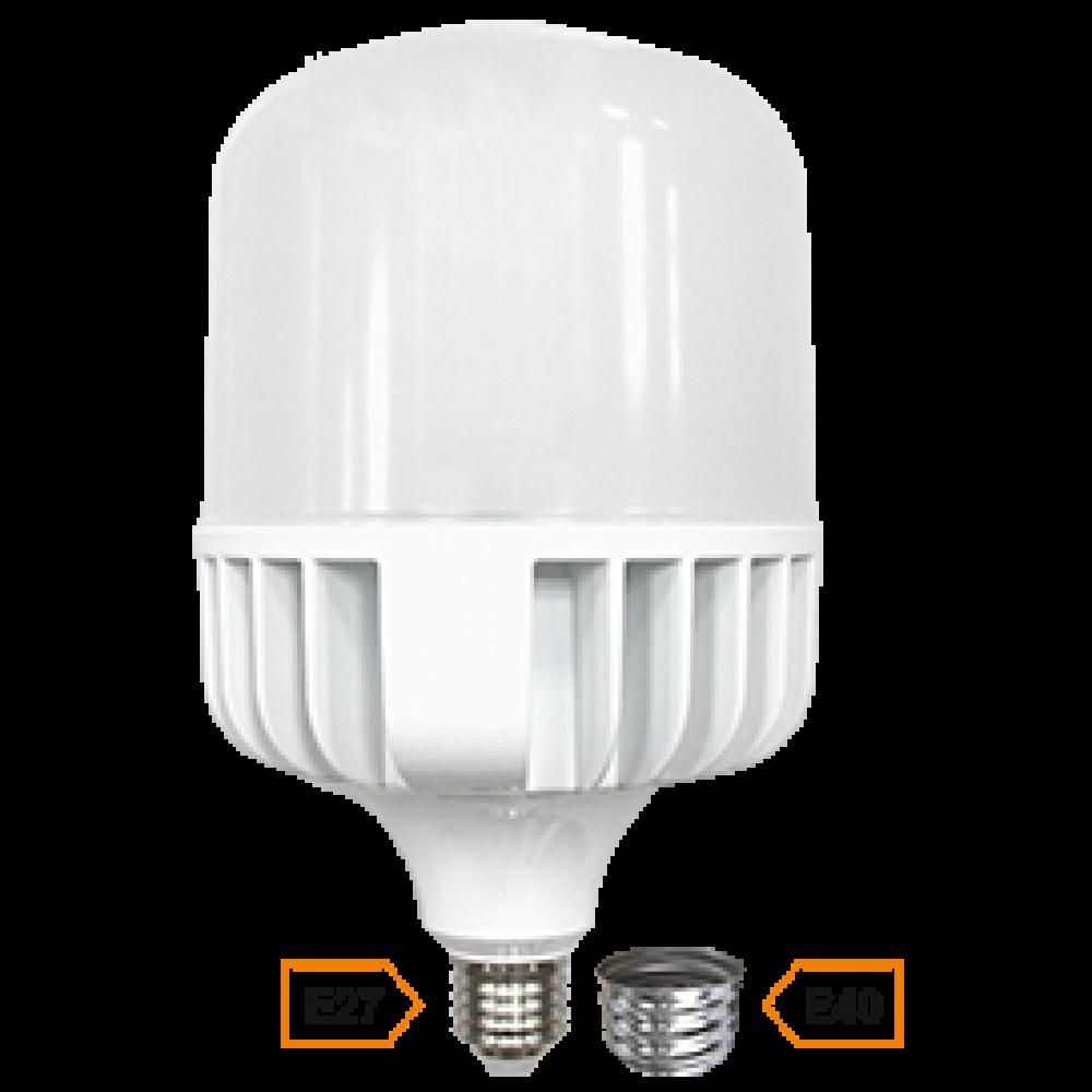 Лампа диодная HP 80Вт Е27/Е40 6000К 6400Лм d140x280мм Ecola Premium (20)