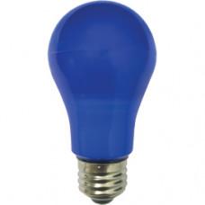 Лампа диодная A55 8Вт Е27 Ecola 360° синий (10/50)