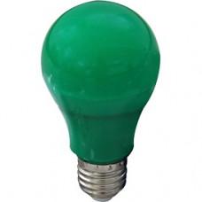Лампа диодная A60 12Вт Е27 Ecola 360° зелёный (10/50)