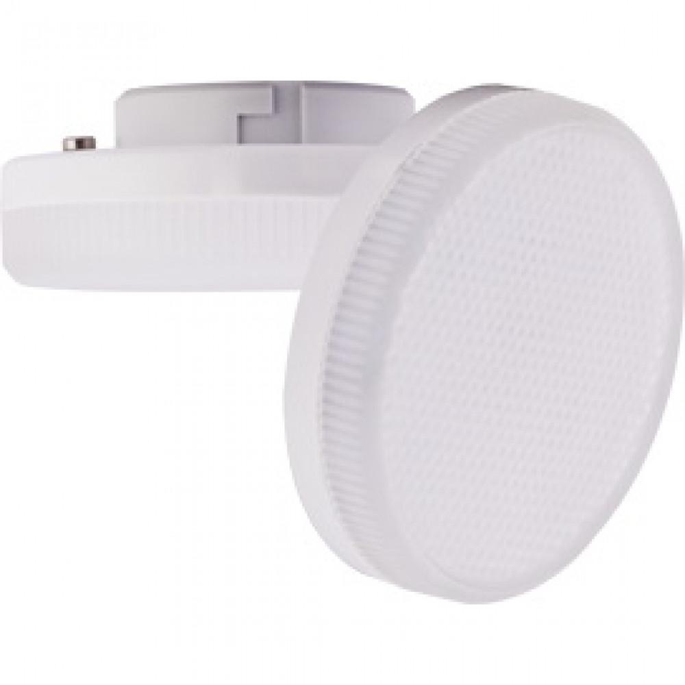 Лампа диодная GX53 8Вт 4200К Ecola Light матовая 10шт/уп (10/100)