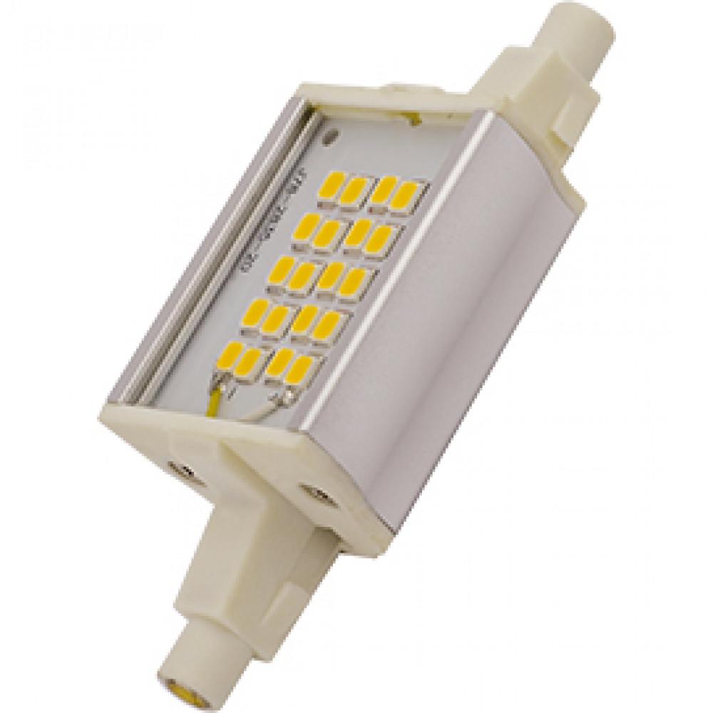 Лампа диодная F78 6Вт R7s 4200К Ecola Premium алюминиевый радиатор (10/100)