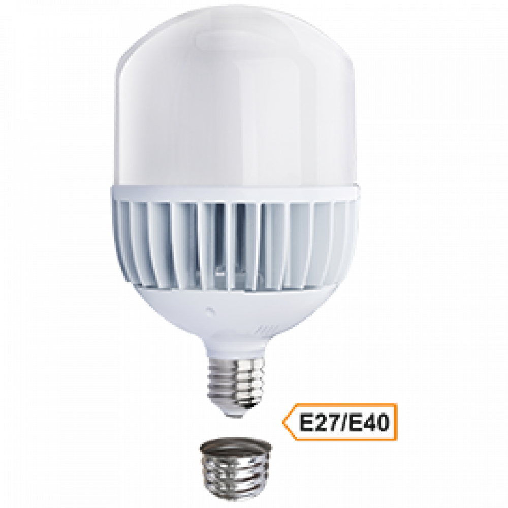 Лампа диодная HP 100Вт Е27/Е40 6000К d160x280мм Ecola Premium (8)
