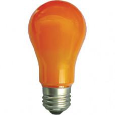 Лампа диодная A60 12Вт Е27 Оранжевый Ecola 360° (10/50)