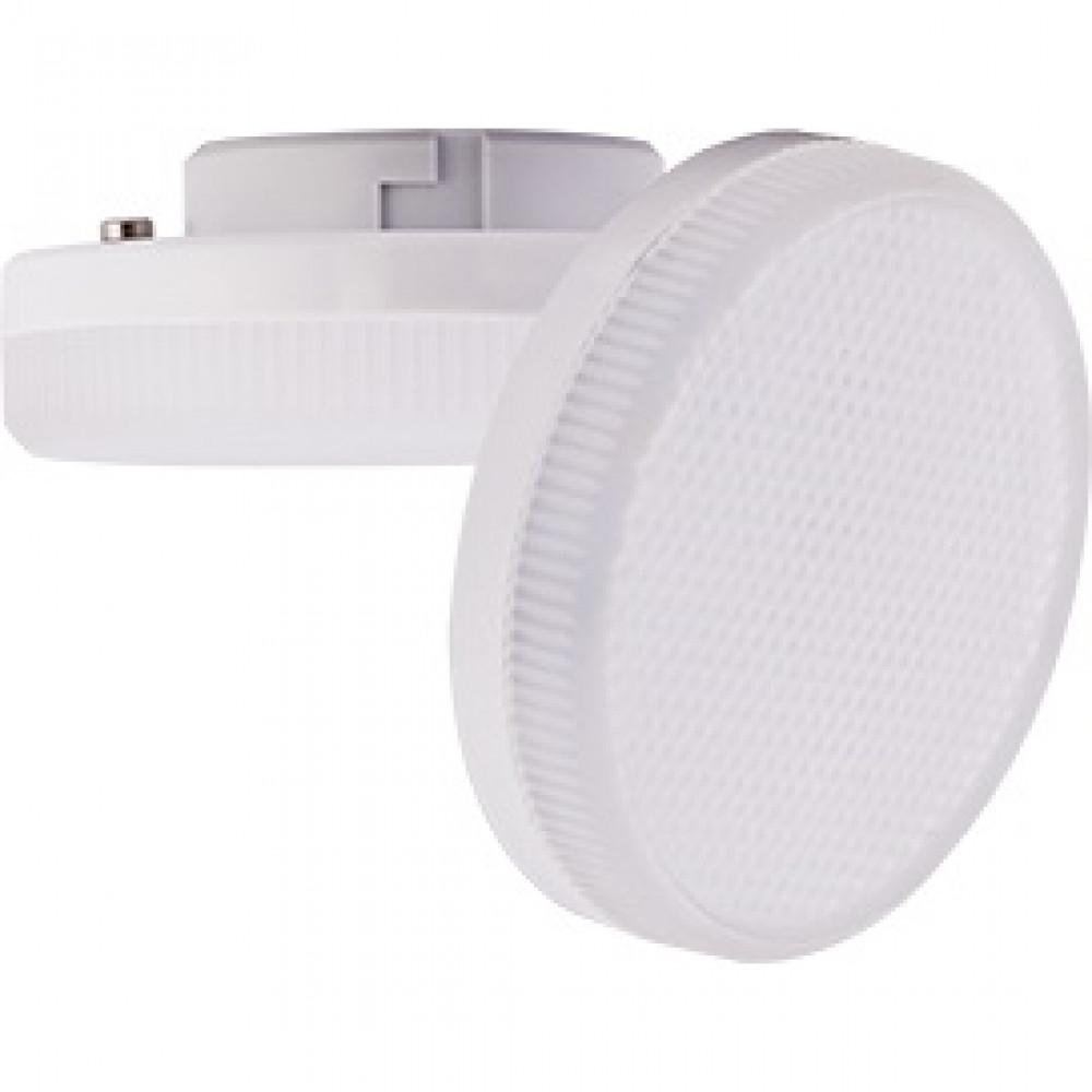 Лампа диодная GX53 6Вт 2800К Ecola матов (10/100)