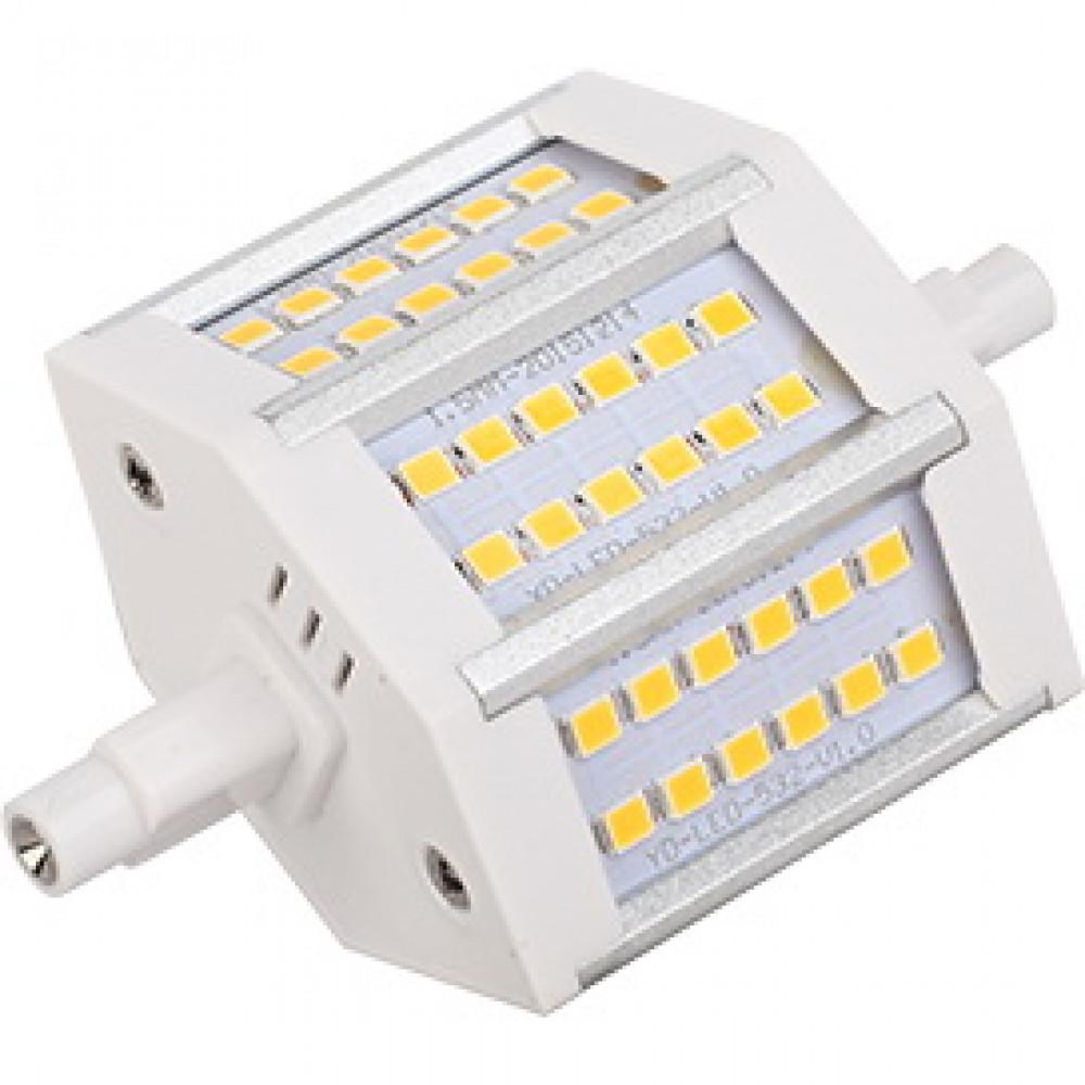 Лампа диодная F78 9Вт R7s 6500К Ecola Premium алюминиевый радиатор (10/50)