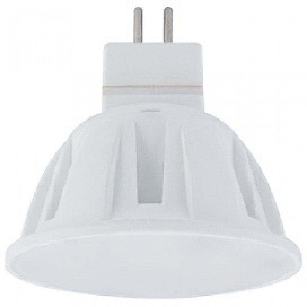 Лампа диодная MR16 GU5.3 4Вт 2800К Ecola Light матов (100)