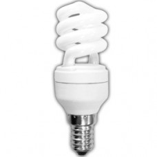 Лампа КЛЛ 9Вт Е14 2700К Ecola Spiral (50)