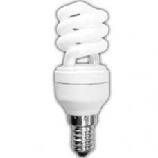 Лампа КЛЛ 9Вт Е14 4000К Ecola Spiral (50)