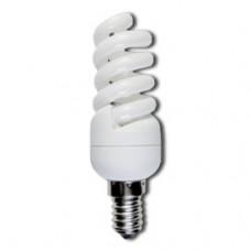 Лампа КЛЛ 11Вт Е14 2700К Ecola Spiral Light (100)